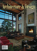 Cynthia Huffines featured in Carolina Architecture and Design magazine